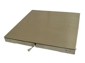 不锈钢双层电子地磅
